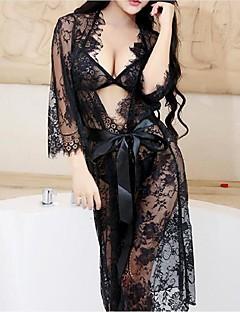 Damen Dessous Besonders sexy Nachtwäsche,Sexy Spitze einfarbig-Spitze Elasthan Mittelmäßig Damen