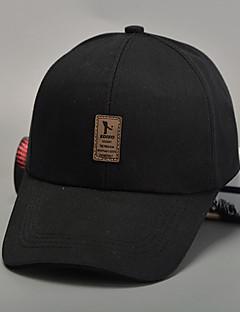 billige Hatter til damer-Unisex Baseballcaps / Solhatt Lapper Bomull