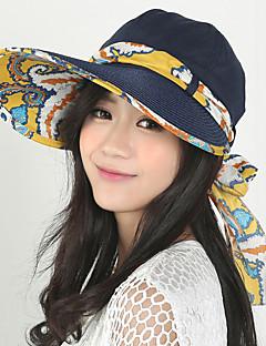 Χαμηλού Κόστους Pack for Seashore-Γυναικεία Patchwork Κομψό στυλ street Καπέλο ηλίου / Καλοκαίρι