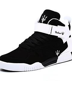 hesapli -Erkek Ayakkabı Mikrofiber Kırpma Bahar Sonbahar Rahat Spor Ayakkabısı Basketbol Atletik Günlük Dış mekan için Cırtcırt Sihirli Bant