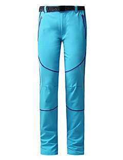 baratos Calças e Shorts para Trilhas-Mulheres Calças de Trilha Térmico/Quente Respirável Calças para Acampar e Caminhar Caça Alpinismo De Excursionismo S M L XL XXL