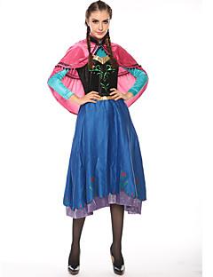 levne -Princeznovské Pohádkové Elsa Cosplay Kostýmy Kostým na Večírek Dámské Halloween Karneval Festival / Svátek Halloweenské kostýmy