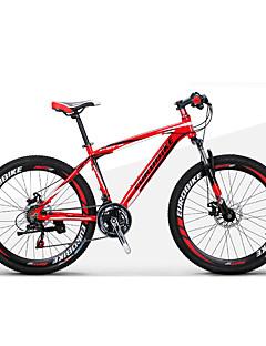 billiga Cykling-Mountainbikes / Hopfällbar Cykel Cykelsport 21 Hastighet 27,5 Inch 1,95 tum Shimano Dubbel skivbroms Suspension Fork Icke-dämpning Vanlig Aluminiumlegering / Stål
