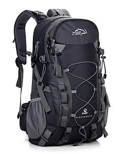 お買い得  バックパック-40 L バックパック - 防水, 耐久性, 高通気性 アウトドア キャンピング&ハイキング, 旅行 オレンジ, ルビーレッド, イエロー