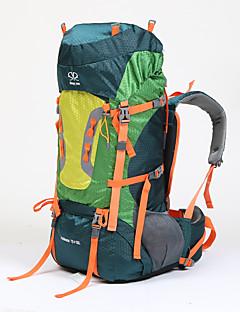 75 L ryggsekk Ryggsekk Camping & Fjellvandring Multifunksjonell