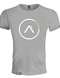 Heren Hardloopshirt Korte mouw Ademend Zacht Zweetafvoerend Comfortabel T-shirt Sweatshirt Kleding Bovenlichaam voor Training&Fitness