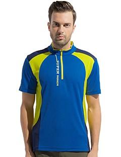 Herrn T-Shirt für Wanderer Rasche Trocknung tragbar Atmungsaktiv Außen T-shirt Oberteile für Camping & Wandern Angeln Klettern Sommer XL