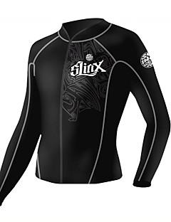 SLINX® 남녀 공용 2mm 잠수복 잠수복 자켓 보온 자외선 방지 압축 탁텔 잠수복 다이빙 복-다이빙 스노쿨링