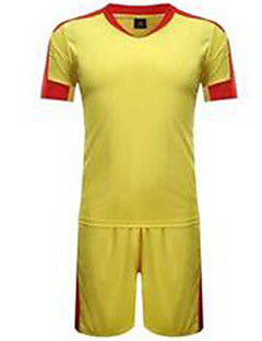 Homme Football Maillot + Short/Maillot+Cuissard Respirable Printemps Eté Hiver Automne Classique Polyester Football