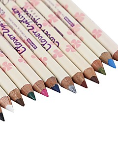 אייליינר עפרון יבש ברק צבעוני טבעי עיניים