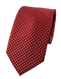 Men's Polyester Neck Tie,Party Work Casual Jacquard All Seasons Red