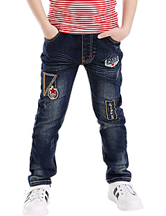 Jungen Jeans Ausgehen Lässig/Alltäglich Schule Bestickt Baumwolle Sommer Frühling Herbst