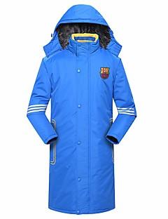 Futebol Jaqueta de Inverno Primavera/Outono Inverno Sólido Estampado Plumagem Outros Esqui Esportes de Inverno