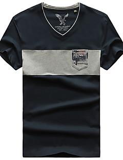 남성용 하이킹 T-셔츠 빠른 드라이 통기성 티셔츠 탑스 용 캠핑 & 하이킹 여름 M L XL XXL XXXL