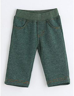 Baby Solid Color Pants,Cotton Spring Fall
