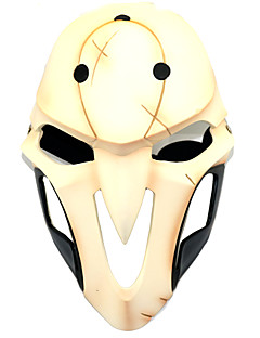 Masker geinspireerd door Overwatch Death the Kid Anime Cosplayaccessoires Hars Plexiglas