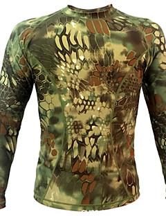 Χαμηλού Κόστους Μπλούζες φλις, πουλόβερ και γιλέκα για κυνήγι-Μακρυμάνικο Κυνήγι Μπολύζες Ανθεκτικό στη φθορά Ικανότητα να αναπνέει Κυνήγι