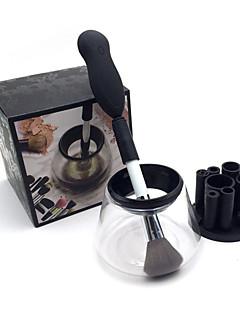 billiga Sminkborstar-Makeup borste rengöringsmedel djupt rent och torka alla storlekar makeup borstar 360 graders rotation automatisk elektrisk