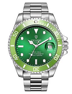 Heren Sporthorloge Skeleton horloge Modieus horloge mechanische horloges Chinees Automatisch opwindmechanismeKalender Waterbestendig s