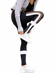 Damen Trainingsleggings Enge Laufhosen Fitness, Laufen & Yoga Schnell trocken Sport Strumpfhosen/Lange Radhose Unten Rennen Yoga Camping