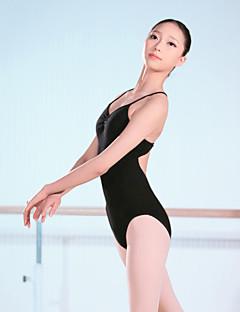 Балет Балетное трико Жен. Учебный Спандекс 1 шт. Без рукавов Завышенная талия трико