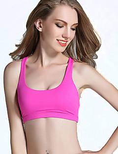 billige Løbetøj-Dame Sport SportsBH'er / Kompressionstøj / Tank Tops - Uden ærmer Yoga, Pilates, Træning & Fitness Fitness, Løb & Yoga, Løb Elastisk