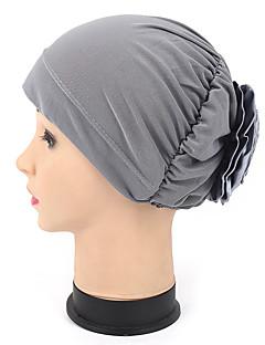 billige Hatter til damer-Dame Hatt / Blomst Solhatt - Blandet Farge, Lapper / Sommer