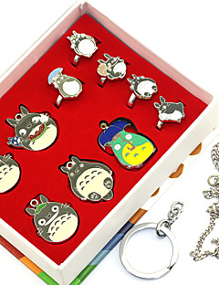 Inspired by Totoro Anime Cosplay Accessories Rings 10PCS