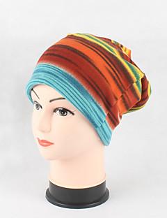 Χαμηλού Κόστους Fashionably Warm-Γυναικεία Καλύμματα Κεφαλής Χαριτωμένο Κομψό & Μοντέρνο Πλεκτά Βαμβάκι Ριγέ Στάμπα - Με ραφές / Ριχτό Καπελίνα
