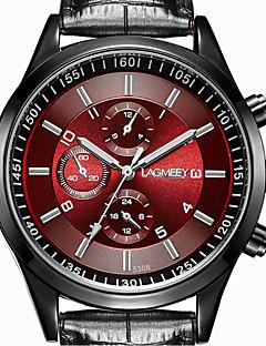 Homens Relógio Elegante Relógio de Moda Quartzo Aço Inoxidável Banda Casual Preta