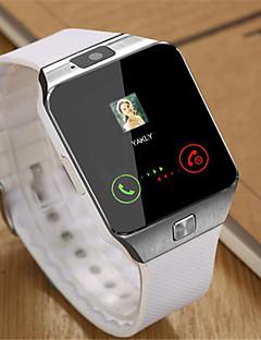 Pánské Chytré hodinky Digitální Pryž Kapela Černá Bílá Hnědá