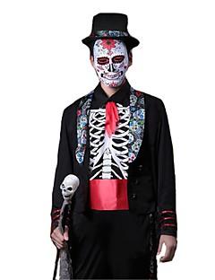 billige Halloweenkostymer-Spøkelse Vampyrer Cosplay Cosplay Kostumer Maskerade Mann Voksne Halloween Karneval Festival/høytid Halloween-kostymer Andre Vintage