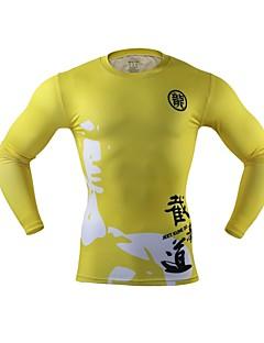 Arsuxeo Heren Hardloopshirt Sneldrogend Lichtgewicht Vermindert schuren voor Hardlopen Yoga Wielrennen Boksen Training&Fitness Fitness