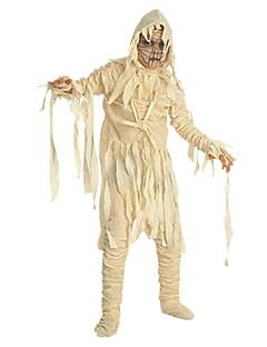 Skjelett / Kranium Zombie Cosplay Badedrakt Kjoler Halloween Karneval De dødes dag Festival / høytid Halloween-kostymer Hvit Vintage