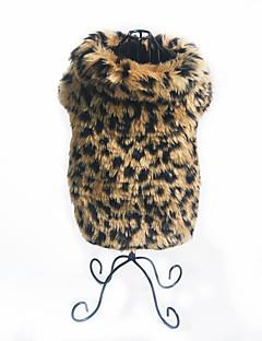 billiga Hundkläder-Hund Dräkter/Kostymer Hundkläder Leopard Ner Terylen Kostym För husdjur Fest