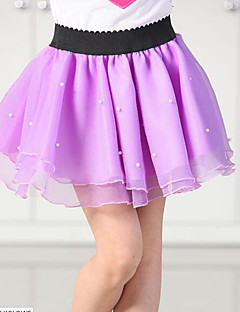 Girls' Solid Skirt-Cotton Summer