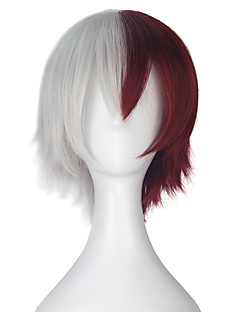 billige Anime cosplay-Cosplay Parykker My Hero Academy Battle For All / Boku no Hero Academia Cosplay Anime Cosplay-parykker 32cm CM Varmeresistent Fiber Herre