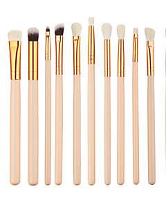 cheap Makeup Brushes-12 Concealer Brush Eyeliner Brush Brow Brush Eyeshadow Brush Synthetic Hair Eco-friendly Professional Synthetic Full Coverage Wood Eye Lip