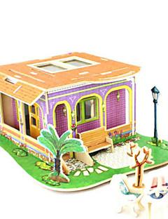 DIY 키트 3D퍼즐 직쏘 퍼즐 장난감 건축 3D DIY 남여 공용 조각