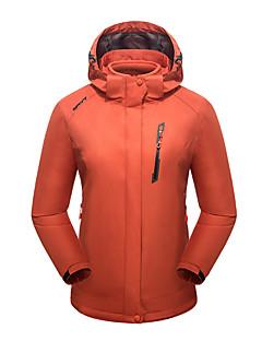 tanie Odzież turystyczna-LEIBINDI Damskie Kurtki 3 w 1 Na wolnym powietrzu Zima Keep Warm Oddychający Wearproof Kurtki 3 w 1 Topy Camping & Turystyka Wspinaczka