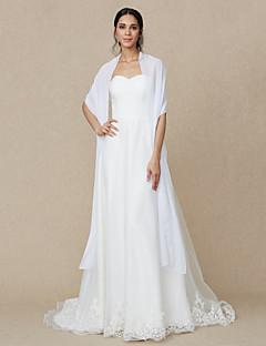 chiffon bryllupsfesten / kvelden kvinners wrap sjal elegant stil