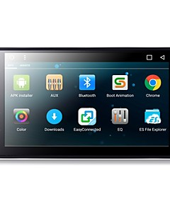 Χαμηλού Κόστους Αυτοκίνητα-TH8021GNC 7 inch 2 Din Android6.0 ΕΠΑΛΕΙΨΗ για Universal Υποστήριξη / MPEG4 / Mp3 / JPEG / Mp4 / MOV