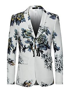 cheap Men's New Ins-Men's Punk & Gothic Plus Size Slim Blazer Oversized Print