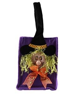billige Halloweenkostymer-Trollmann/heks Bagger og vesker Halloween Festival / høytid Halloween-kostymer Svart Mote