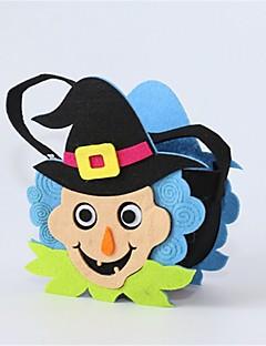 Spøkelse Monstere Gresskar Bagger og vesker Halloween Festival/høytid Halloween-kostymer Svart Mote