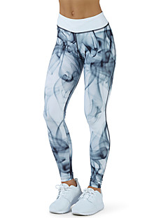női közepes varrás print leggingcolor blokk divat. műveljünk erkölcsöt. mozgás nadrág