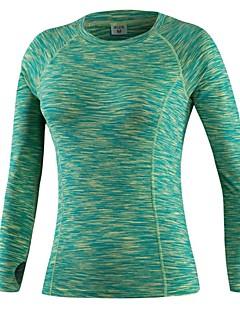 billige Løbetøj-Dame Løbe-T-shirt Langærmet Strækkende, Åndbarhed, Letvægt Sweatshirt / T-Shirt for Træning & Fitness / Fritidssport / Basketbold