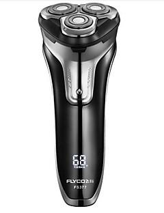 Flyco fs377 profissional barbeador elétrico lavável para homem