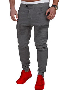 Men's Mid Rise Stretchy Straight Loose Chinos Sweatpants Pants,Simple Active Straight Loose Chinos Sweatpants Solid
