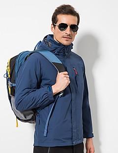 tanie Odzież turystyczna-LEIBINDI Męskie Kurtki 3 w 1 Na wolnym powietrzu Zima Quick Dry Wiatroodporna Rain-Proof Rozciągliwe Topy Pojedyncze Slider Water Proof